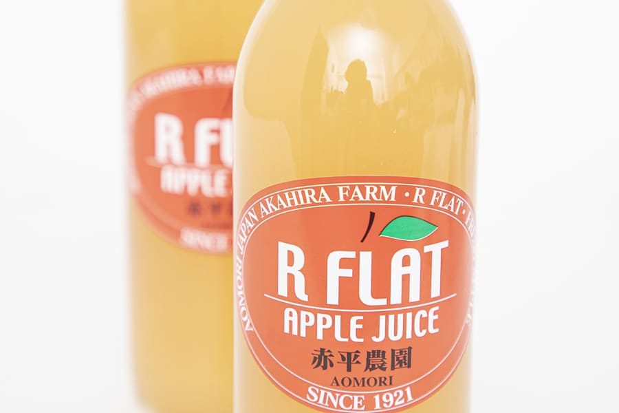 青森のりんごジュース