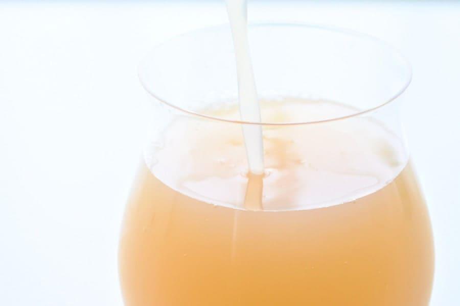 美味しいりんごジュース