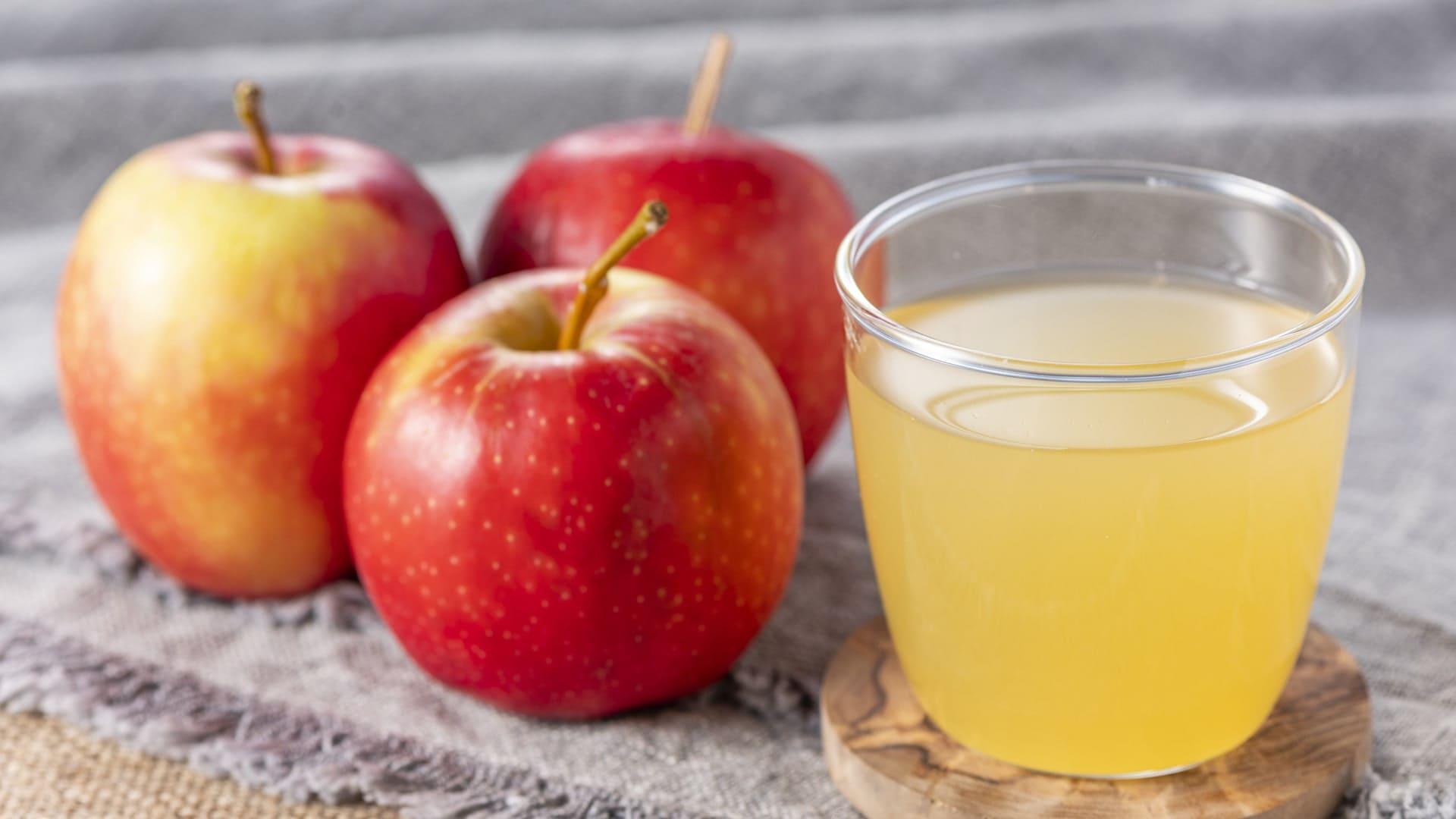 青森の美味しいりんごジュース